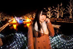 昭和記念公園のイルミネーションにてスナップ撮影_mg_4502