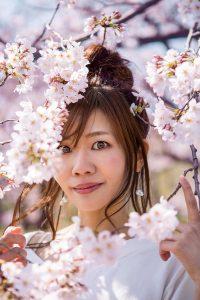 桜スナップ撮影